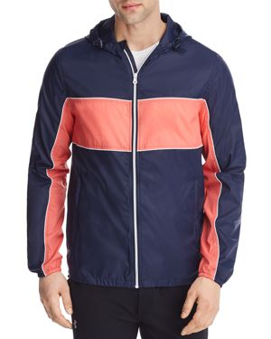 PACIFIC & PARK COLOR-BLOCKED HOODED JACKET - 100% EXCLUSIVE