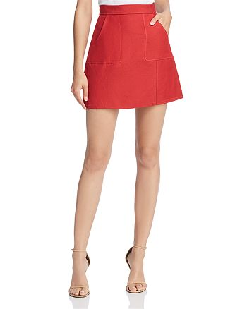 C/MEO Collective - Confessions A-Line Mini Skirt