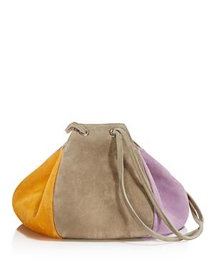 Creatures of Comfort Puff Drawstring Suede Shoulder Bag