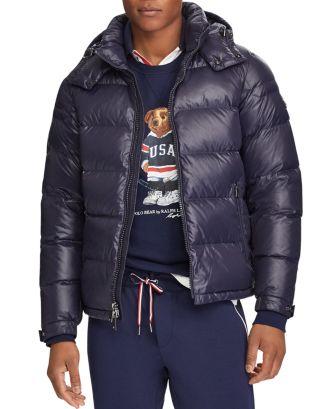 Polo Ralph Lauren Luminaire Down Hooded Jacket ...