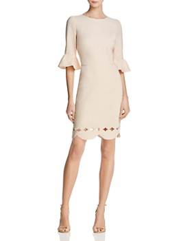Adelyn Rae - Blair Scallop-Hem Dress