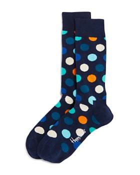 b67a00aabb34 Polo Ralph Lauren Assorted Dress Socks, Pack of 3.  23.00. Happy Socks -  Big Dot Socks