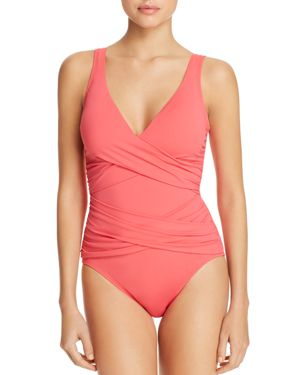 Tommy Bahama Pearl Floating Underwire One Piece Swimsuit