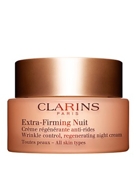 Clarins - Extra-Firming Wrinkle Control Regenerating Night Cream for All Skin Types