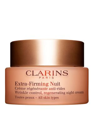 CLARINS Extra-Firming Wrinkle Control Regenerating Night Cream - All Skin Types, 1.7 Oz./ 50 Ml