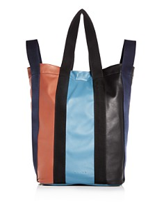 Marni - Color-Block Leather Tote