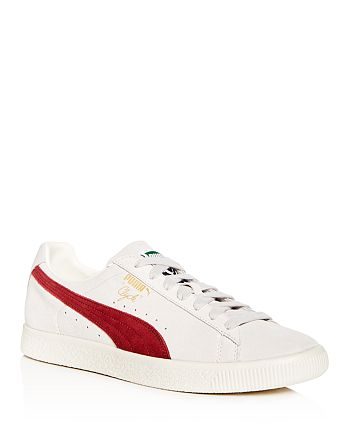 PUMA - Men's Clyde Suede Lace Up Sneakers