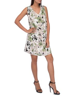 B Collection by Bobeau Iban Floral-Print Shift Dress