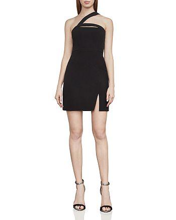BCBGMAXAZRIA - One-Shoulder Mini Dress