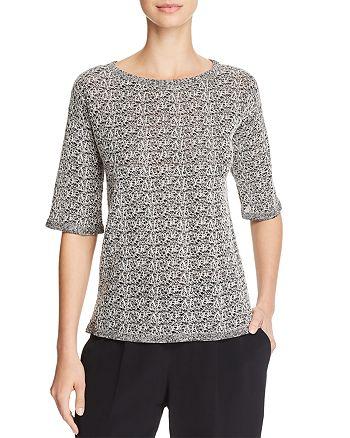 Eileen Fisher - Textured Short-Sleeve Top