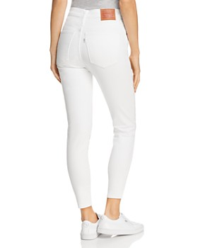Levi's - Mile High Ankle Skinny Jeans in Western White