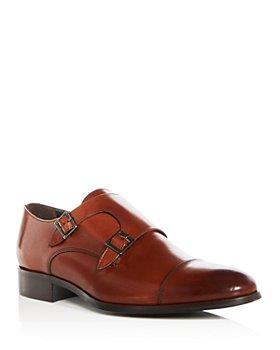 To Boot New York - Men's Bankston Leather Monk-Strap Oxfords