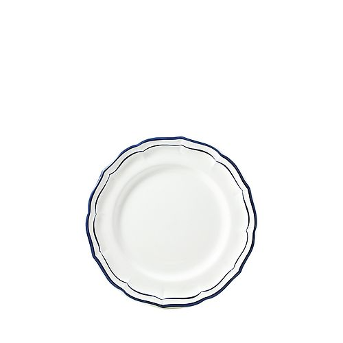 Gien - Filet Indigo Blue Canape Bread & Butter Plate