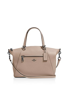 COACH - Prairie Satchel in Polished Pebble Leather