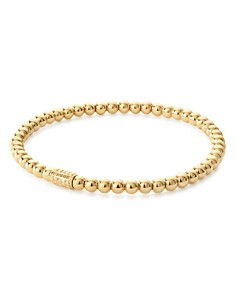 LAGOS - Caviar Gold Collection 18K Gold Beaded Bracelet, 4mm