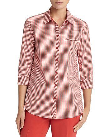 Lafayette 148 New York - Paget Gingham Shirt