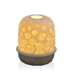Bernardaud Lampion Silver Zinnias LED Lamp - Bloomingdale's_0