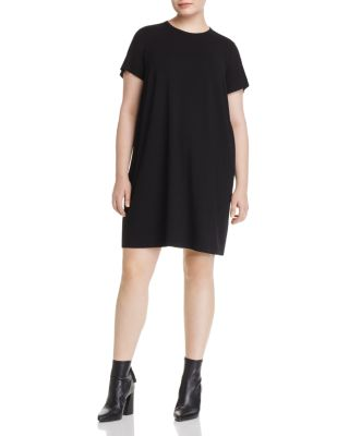 $Eileen Fisher Plus T-Shirt Dress - Bloomingdale's