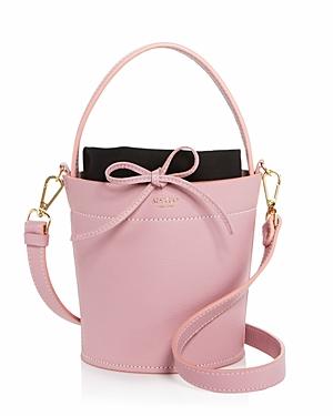 Mateo Madeline Leather Bucket Bag