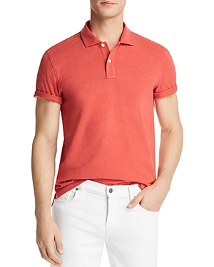 The Men's Store at Bloomingdale's Slub Jersey Enzyme Wash Classic Fit Polo - 100% Exclusive
