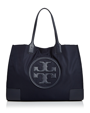 Tory Burch Ella Nylon & Leather Tote