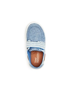 TOMS - Boys' Culver Chambray Boat Shoes - Toddler, Little Kid, Big Kid