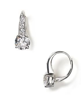 Crislu - Round Leverback Earrings