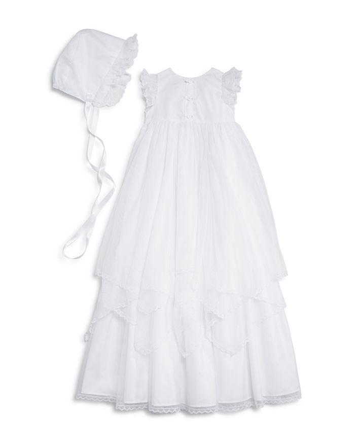 Pippa & Julie - Girls' Christening Gown & Bonnet Set - Baby