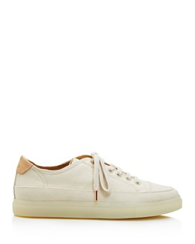 Pairs in Paris - Women's Canvas Low Top Lace Up Sneakers - 100% Exclusive