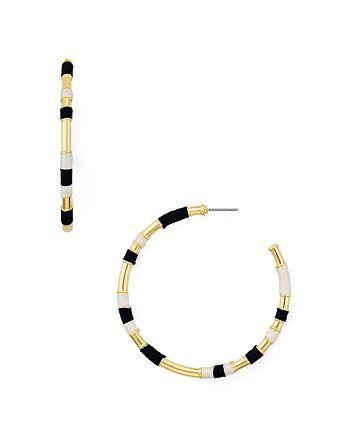 AQUA - Wrap Hoop Earrings - 100% Exclusive