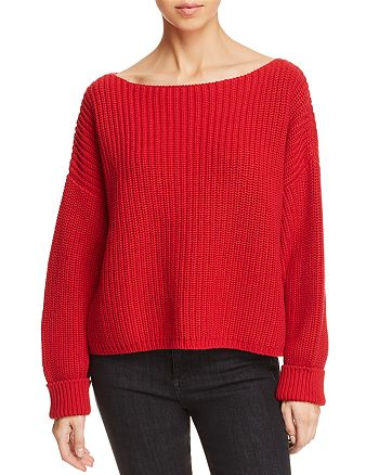 FRENCH CONNECTION - Millie Mozart Ribbed Sweater