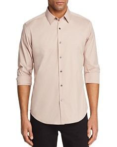 Theory Sylvain Long Sleeve Button-Down Shirt - Bloomingdale's_0