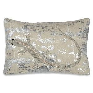 Michael Aram Palm Lizard Decorative Pillow, 8 x 12 - 100% Exclusive