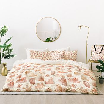 Deny Designs - Dash and Ash Those Gems Though in Sunrise Bed-in-a-Bag, King