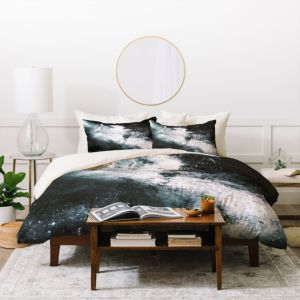 Deny Designs Caleb Troy Soaked Duvet Cover Set, Queen