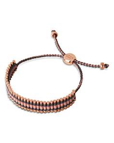 Links of London 18K Rose Gold Vermeil, Grey & Copper Glitter Cord Friendship Bracelet - Bloomingdale's_0