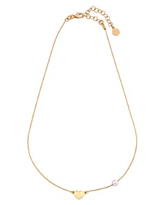 """Majorica Simulated Pearl & Heart Necklace, 15"""" - Bloomingdale's_0"""