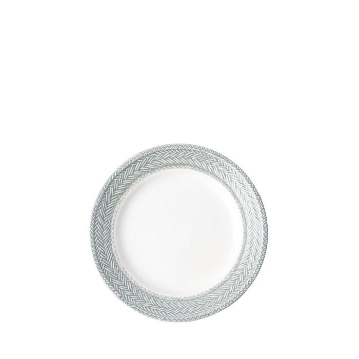 Juliska - Le Panier Grey Mist Side/Cocktail Plate