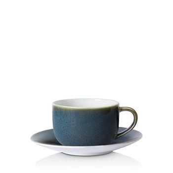 Royal Crown Derby - Art Glaze Cappuccino Saucer