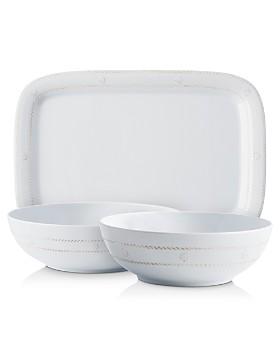 Juliska - Berry & Thread Melamine Whitewash Serveware Collection