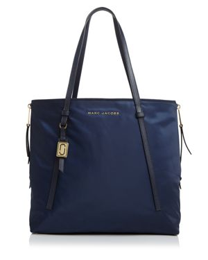 NYLON SHOPPING TOTE