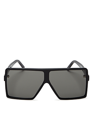 Saint Laurent Women\\\'s Sl 183 Betty Small Shield Sunglasses, 63mm-Jewelry & Accessories