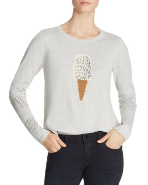 Lisa Todd Lickety Split Embellished Sweater