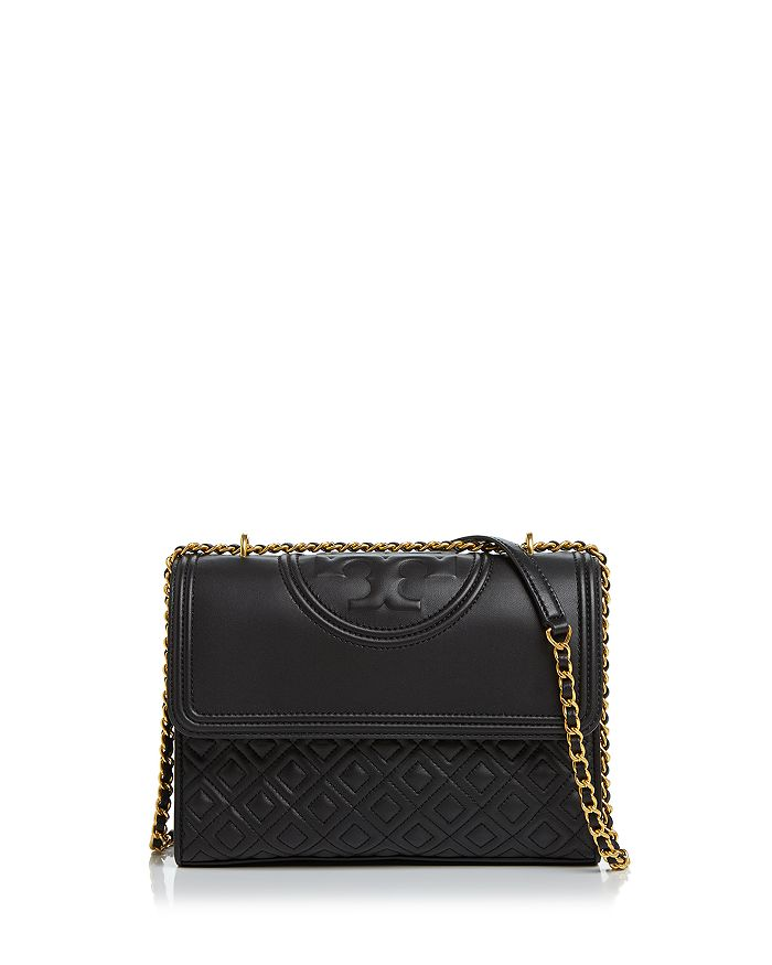 Tory Burch - Fleming Convertible Leather Shoulder Bag