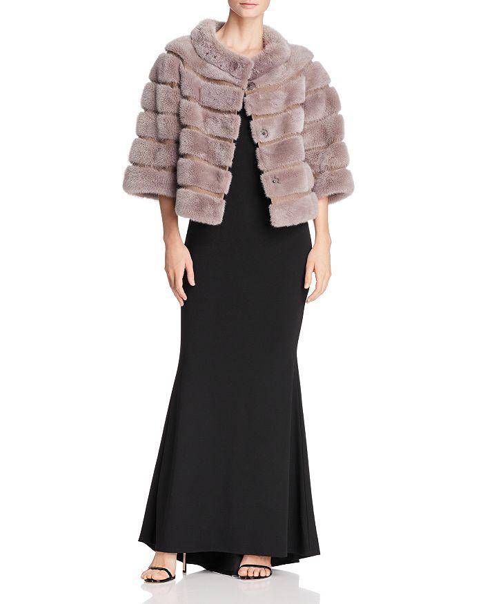 Maximilian Furs - Suede-Trim Mink Fur Jacket - 100% Exclusive