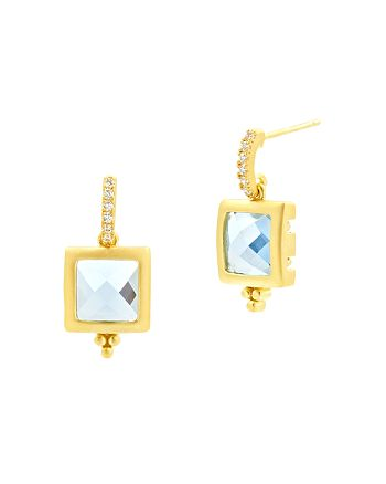 Freida Rothman - Ocean Azure Drop Earrings
