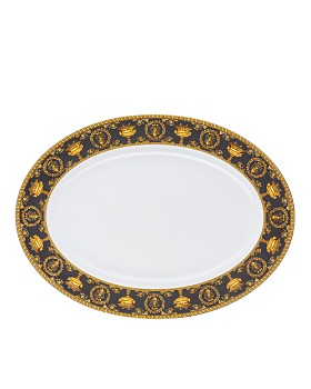 Versace By Rosenthal - I Love Baroque Nero Platter