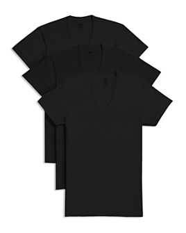 2(X)IST - Slim Fit V-Neck Tee, Pack of 3