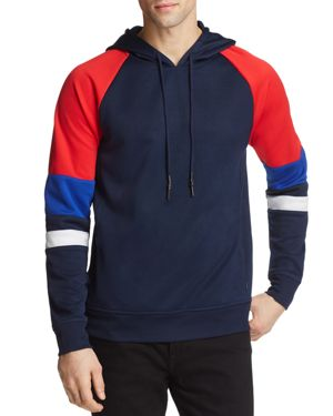 PACIFIC & PARK COLOR-BLOCK HOODED SWEATSHIRT - 100% EXCLUSIVE