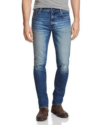 Belstaff - Westering Slim Fit Jeans in Faded Blue